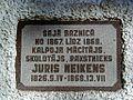 Umurga, J.Neikena piemiņas plāksne pie baznīcas 2000-10-01 - panoramio.jpg
