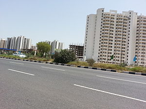 Alwar - New residential Buildings in Neemrana Alwar