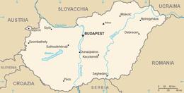 Ungheria - Mappa