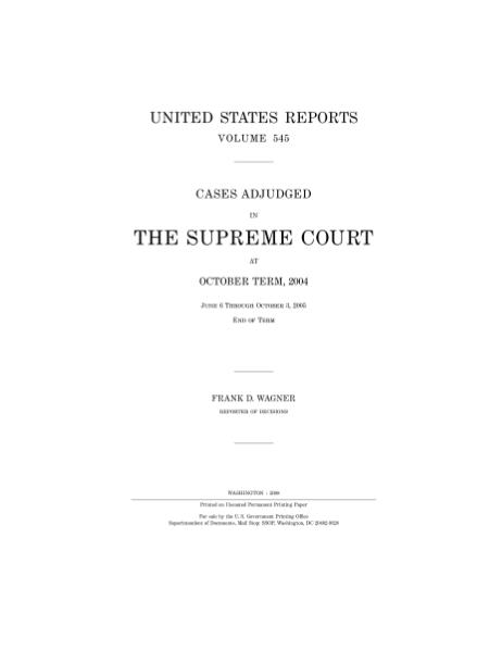 File:United States Reports, Volume 545.djvu