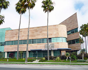 Universal Music Group - Universal Music Publishing Headquarters in Santa Monica, California.