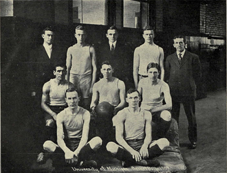 Michigan Wolverines men's basketball - 1909 Michigan basketball team