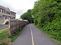 Upper Charles Rail Trail northeast from Hayward Street, May 2017.JPG