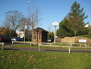 Upper Halliford Human settlement in England