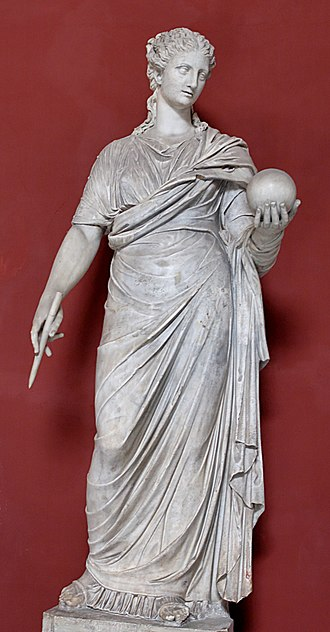 Urania - Urania, a restored Roman copy after a Greek original of the 4th century BC, Hadrian's Villa.