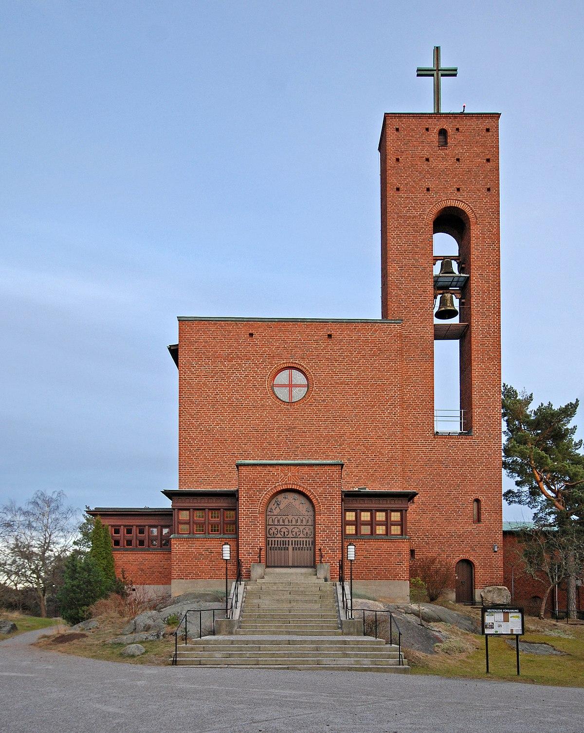 vilken sida i kyrkan vid begravning
