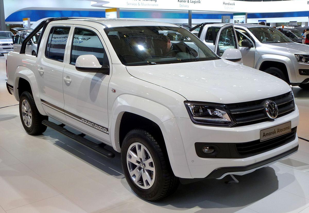 2016 Ford Ranger >> Volkswagen Amarok - Wikipedia