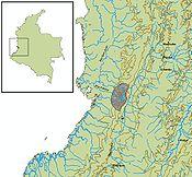 Ubicación geográfica Cultura Ilama (1500 adC-0)