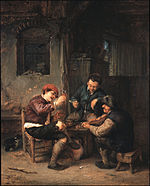 Van Ostade, Adriaen - Three Peasants at an Inn - Google Art Project.jpg