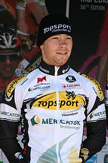 Michael Van Staeyen Belgian cyclist