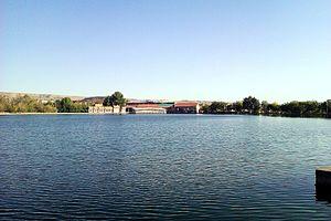 Lyon Park, Yerevan - Image: Vardavar lake, Yerevan 2