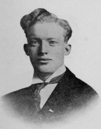 Vasco M. Tanner - Tanner in the 1914 Brigham Young University yearbook