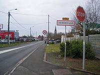 Vendeville - Panneau d'entrée.JPG