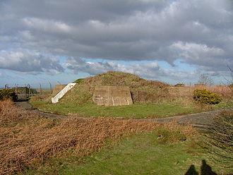 St Boniface Down - The radar station on the summit