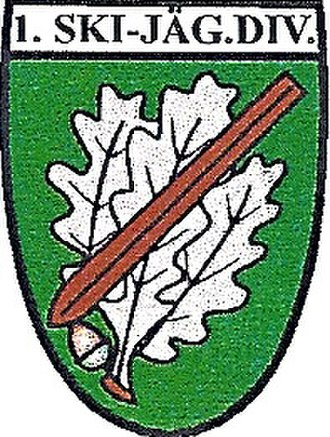 1st Ski Division (Wehrmacht) - Unit insignia
