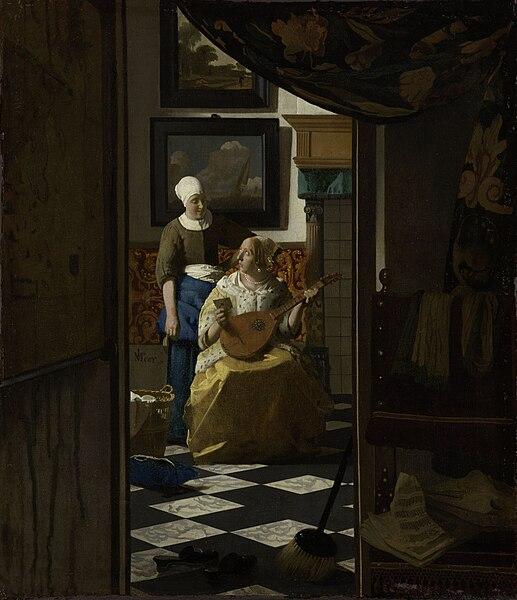 File:Vermeer, Johannes - The Loveletter.jpg