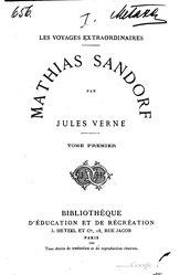 Jules Verne: Mathias Sandorf