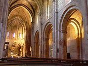 Veruela - Iglesia abacial de Santa María de Veruela - Vista desde el pie.jpg