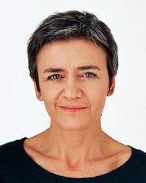 European Commissioner for Competition - Image: Vestager 520 2012 04 16