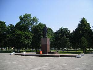 Vietka - Main Square or Red Square in Vietka