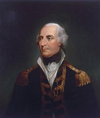 Roger Curtis - Sir Roger Curtis, ca. 1800