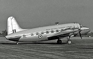 No. 30 Squadron RAF - Vickers Valetta transport of No. 30 Squadron in 1953.