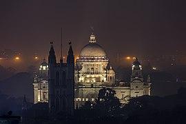 Victoria Memorial Kolkata at night.jpg