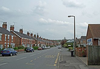 Barnetby - Image: Victoria Road, Barnetby le Wold geograph.org.uk 786834