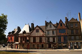 Morbihan - Image: Vieux quartier port vannes