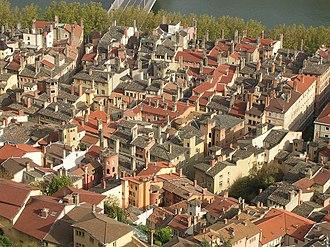 Vieux Lyon - Image: Vieuxlyon saintjean toits