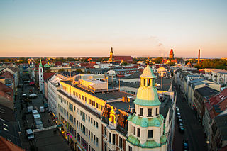 Cottbus Place in Brandenburg, Germany