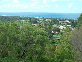 Ocean Shores, New South Wales - View of Ocean Shores from Lookout Park
