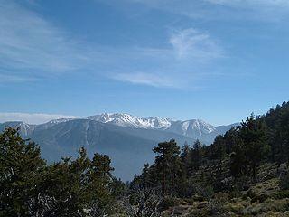 San Bernardino Mountains mountain range in Southern California