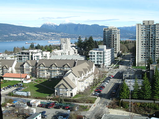 View of UBC campus (February 2010)