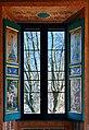 Vil·la Farnesina, Sala de la Perspectiva. Finestra (Roma).jpg