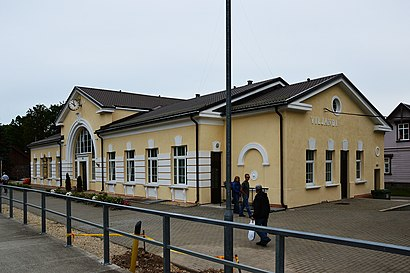 How to get to Viljandi raudteejaam with public transit - About the place