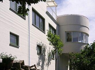 Sven Markelius - Image: Villa Markelius 2008a