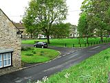 A view of the village Green, Gainford, County Durham