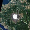 Villarrica volcano feb 2015 from space.jpg