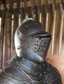Visirhjälm med kam, 1600-talet - Skoklosters slott - 108866.tif