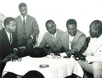 Prime Minister of Senegal - Image: Visite de Sekou Touré