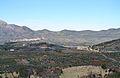 Vista de Beniarrés i Planes des de Benialfaquí.JPG