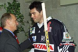 250px Vladimir Putin 14 August 2001 2 Jaromir Jagr
