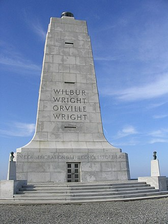 Wright Brothers National Memorial - Kill Devil Hill Monument