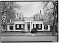 WEST FRONT - Irwin-Brues House, 201 North Front Street, Wheeling, Ohio County, WV HABS WVA,35-WHEEL,17-1.tif
