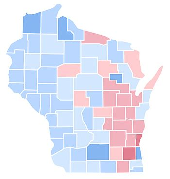 United States Presidential Election In Wisconsin Wikipedia - 1992 election us map