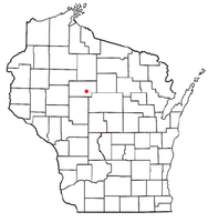 Location of Medford (town), Wisconsin