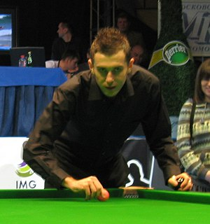 Mark Selby - Selby at the 2008 World Series of Snooker in Moscow