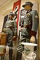 WW2 Norway. Polizeioberwachtmeister der Schutzpolizei; Hauptmann der SP; Norw. police major (politikommandør) 1942; Norw. SS- Rottenführer etc Justismuseet Trondheim 2019 7084.jpg