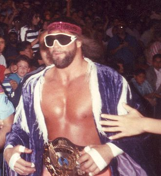 Randy Savage - Savage won his first WWF World Heavyweight Championship in a 14-man tournament at WrestleMania IV